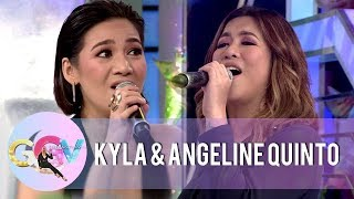 GGV: Kyla, Angeline, and Vice Ganda sing Regine's part in the ABS-CBN Christmas Station ID 2018