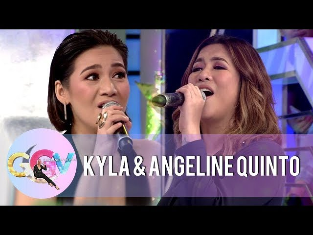 GGV: Kyla, Angeline, and Vice Ganda sings Regine's part in the ABS-CBN Christmas Station ID 2018