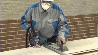 Монтаж фасадных панелей KMEW - видео часть 7(Резка фасадных панелей kmew - седьмой ролик видеопособия по разъяснению монтажа фасадных панелей KMEW. Обработ..., 2012-09-05T11:09:16.000Z)