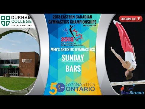 Saturday - P-Bars - 2018 Eastern Canadian Gymnastics Championships - M.A.G.