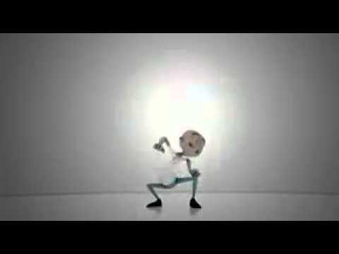 Toon crazy dance