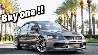 5 REASONS WHY YOU NEED TO BUY AN EVO 9 !!