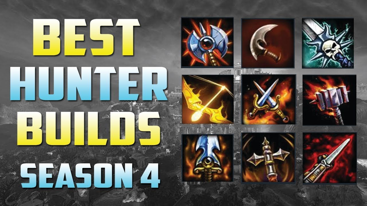 Best Hunter Builds Smite