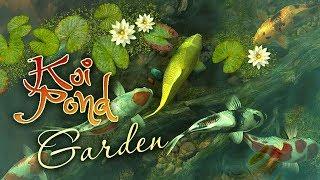 Koi Pond - Garden 3D Live Wallpaper and Screensaver screenshot 3