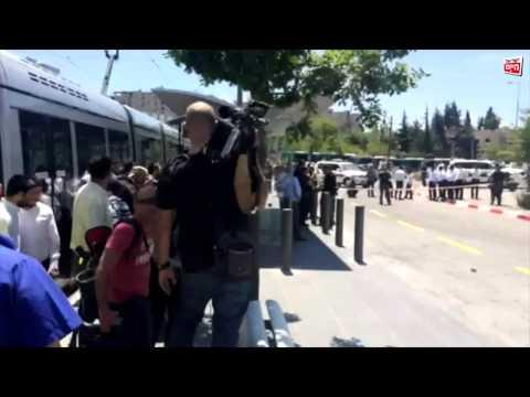 ניסיון דקירה בירושלים: המחבל נורה ונפצע