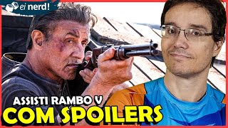 I'VE WATCHED RAMBO 5, WHAT DO I THINK