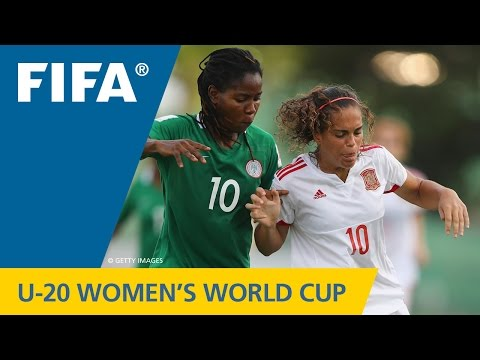 MATCH 19: NIGERIA v SPAIN - FIFA Women's U20 Papua New Guinea 2016