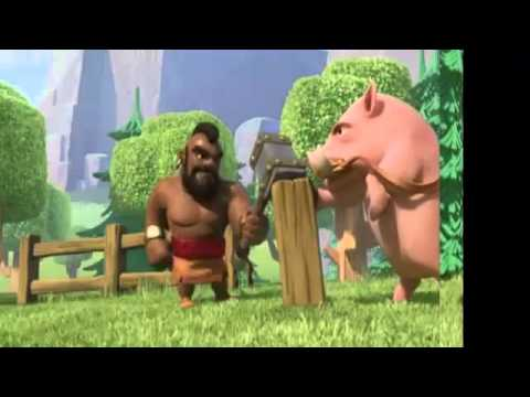 Clash Of Clans: Ride Of The Hog Riders