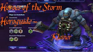 Heroes of the Storm Heroguide | Kleiner - Plage von Dunkelhain | German | Tutorial