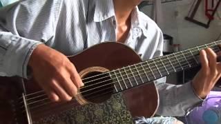 Tập chơi guitar điệu bolero liên khúc buồn :D