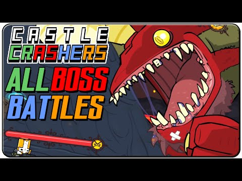Castle Crashers All Bosses (2 Player)