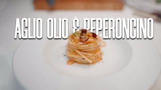 Spaghetti aglio, olio, peperoncino - Chef Marco Scaramucci