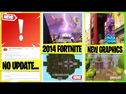 *NEW* Fortnite Update! Leaked OLD 2014 MAP Before BR, Capture The Flag, Update Delay, More Leaks!