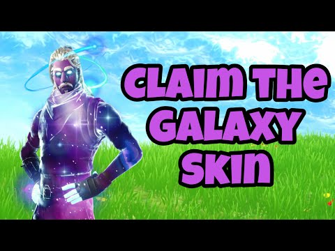 CLAIM The GALAXY SKIN In Fortnite Chapter 2.. (NEW)