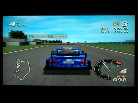 Total Immersion Racing Playstation 2 Gameplay