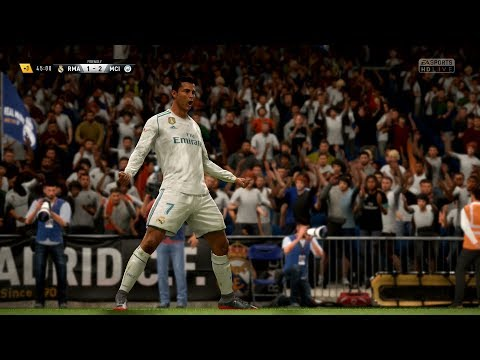 FIFA 18 | Real Madrid vs Manchester City - Full Gameplay (PS4/Xbox One)