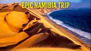 Epic Namibia trip. Yuneec Q500 4K drone . C28 road. Windhoek , Swakopmund , Sandwich Harbour