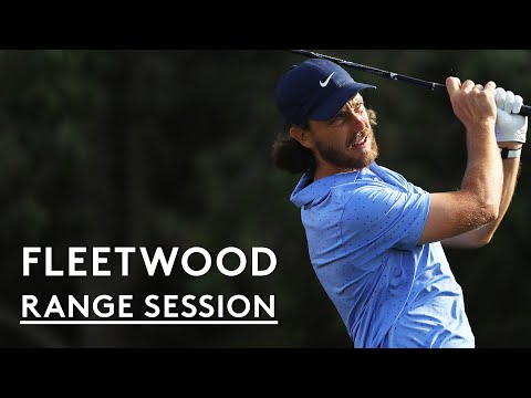 Tommy Fleetwood's full range session with TopTracer
