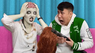 12 Funny Zombie Pranks! Prank Wars!