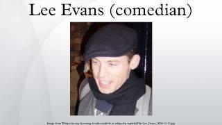 Lee Evans (comedian)