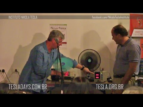 Apresentação do Keppe Motor com Cesar Soós no #TESLADAY