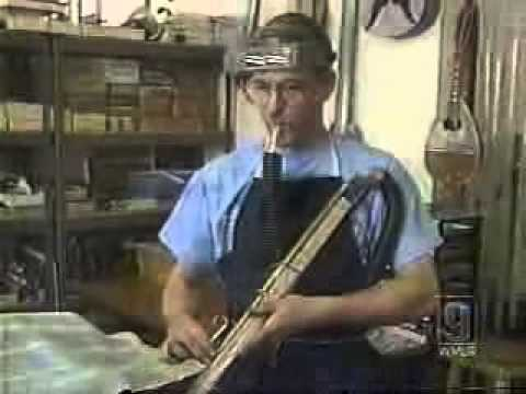 Chris McKenna, musician, artisan, inventor...