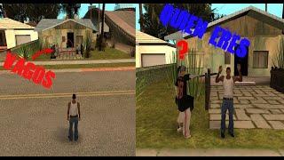 Nunca Vengas a la Casa de Denise Antes de Conocerla en el GTA San andreas