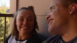 Cooking With MMA Love Birds Rose Namajunas and Pat Barry