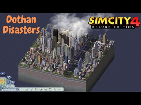 [SimCity 4] Downtown Dothan Disasters |