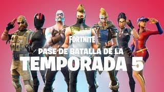 PASE DE BATALLA DE LA TEMPORADA 5 | YA ESTÁ DISPONIBLE thumbnail