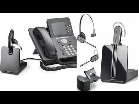 6dc4f1c4d51879 Plantronics CS530 Wireless DECT Headset System Up To 350 Feet Away From  Base For Maximum Mobility
