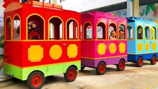 Колеса у автобуса крутятся - Детская песня. Песни для детей от Майи и Маши - #1
