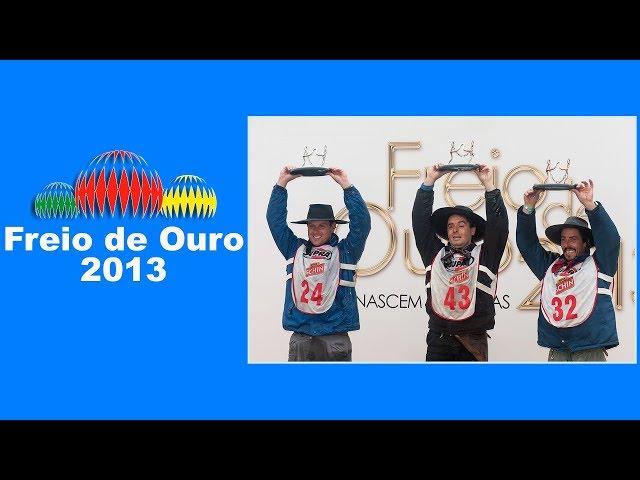 NOSTALGIA FREIO DE OURO 2013