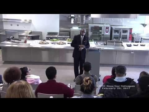 LBCC - Know Your Colleagues - Professor Melvin Ross