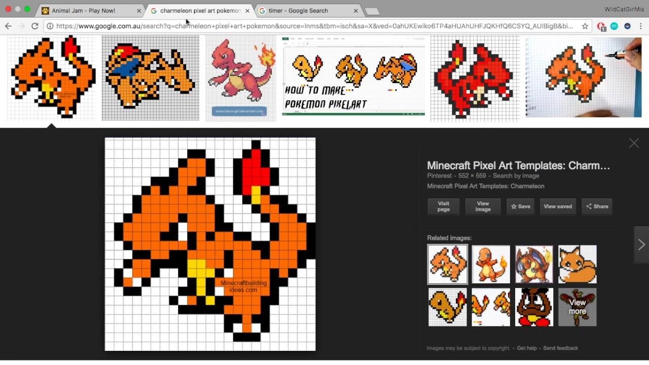 Animal Jam Gen 1 Second Evolution Starters Pokemon Using Pixel Art