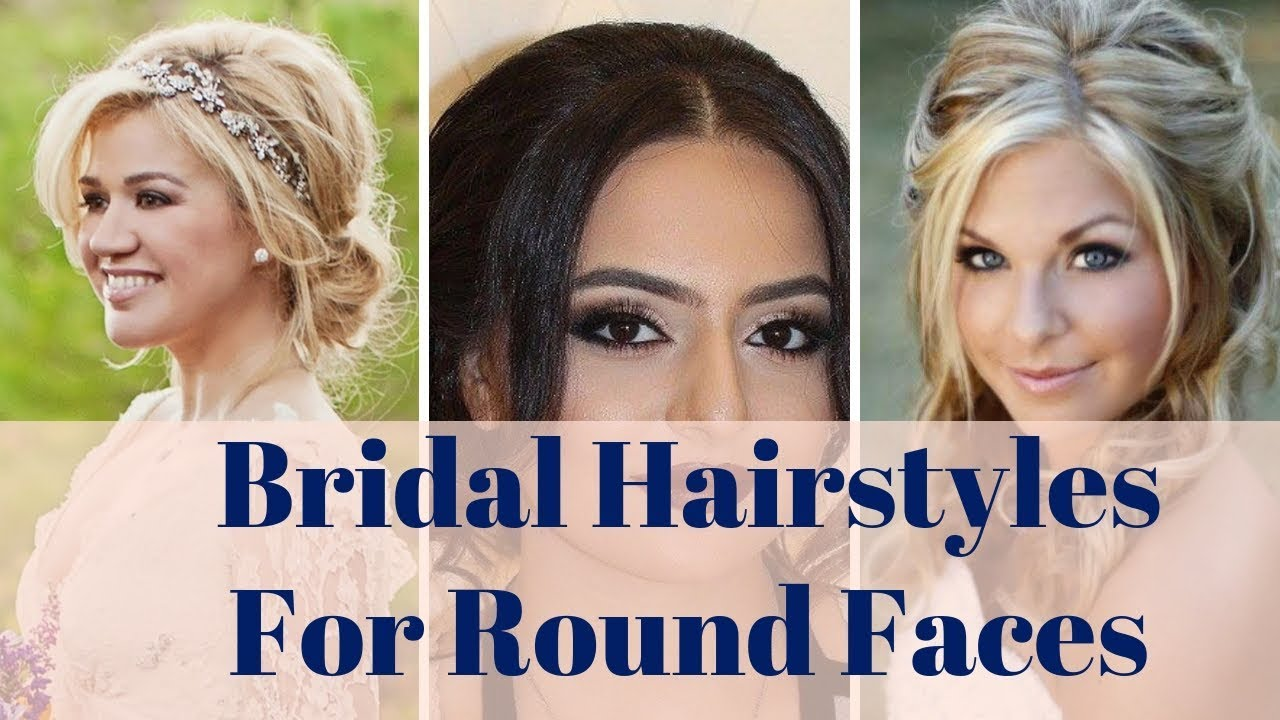 Bridal Hairstyles For Round Faces 100 Hairstyle Ideas For Round Face Brides