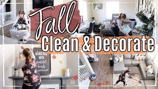 FALL CLEAN AND DECORATE WITH ME 2019 :: ULTIMATE CLEAN WITH ME :: FALL SPEED CLEANING MOTIVATION