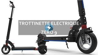 Trottinette électrique Zero 9