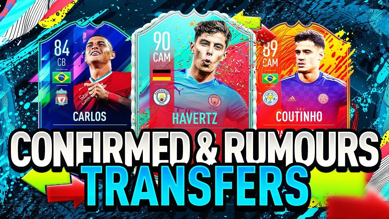 FIFA 21   SUMMER 2020 CONFIRMED TRANSFERS & RUMOURS! (FT ...