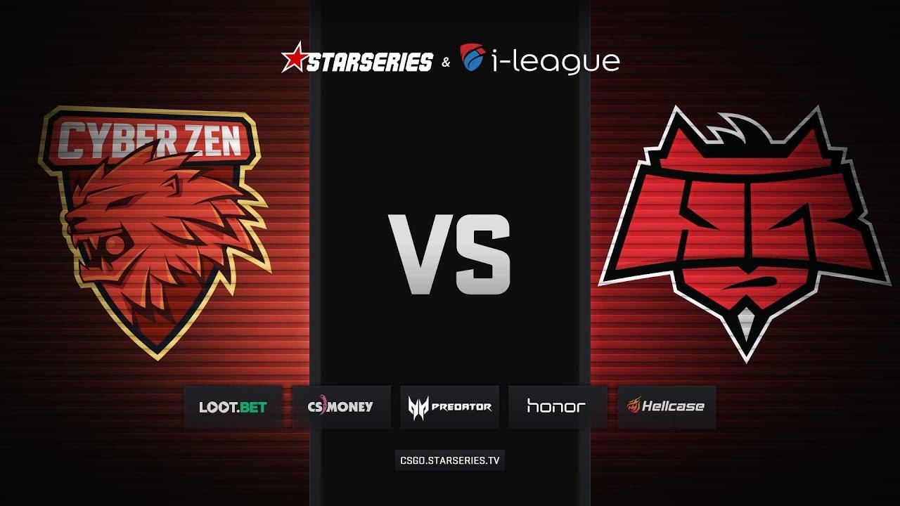 CyberZen vs HellRaisers, overpass, StarSeries i-League Season 6 Finals
