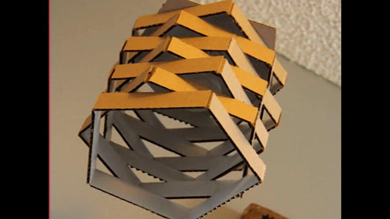 Cara Membuat Lampu Gantung Dari Bahan Kardus Bekas YouTube