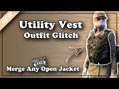 GTA5 I *NEW* Outfit Glitch: Merge Utility Vest With Any Open Jacket! (Doomsday Heist DLC) Patch 1.42