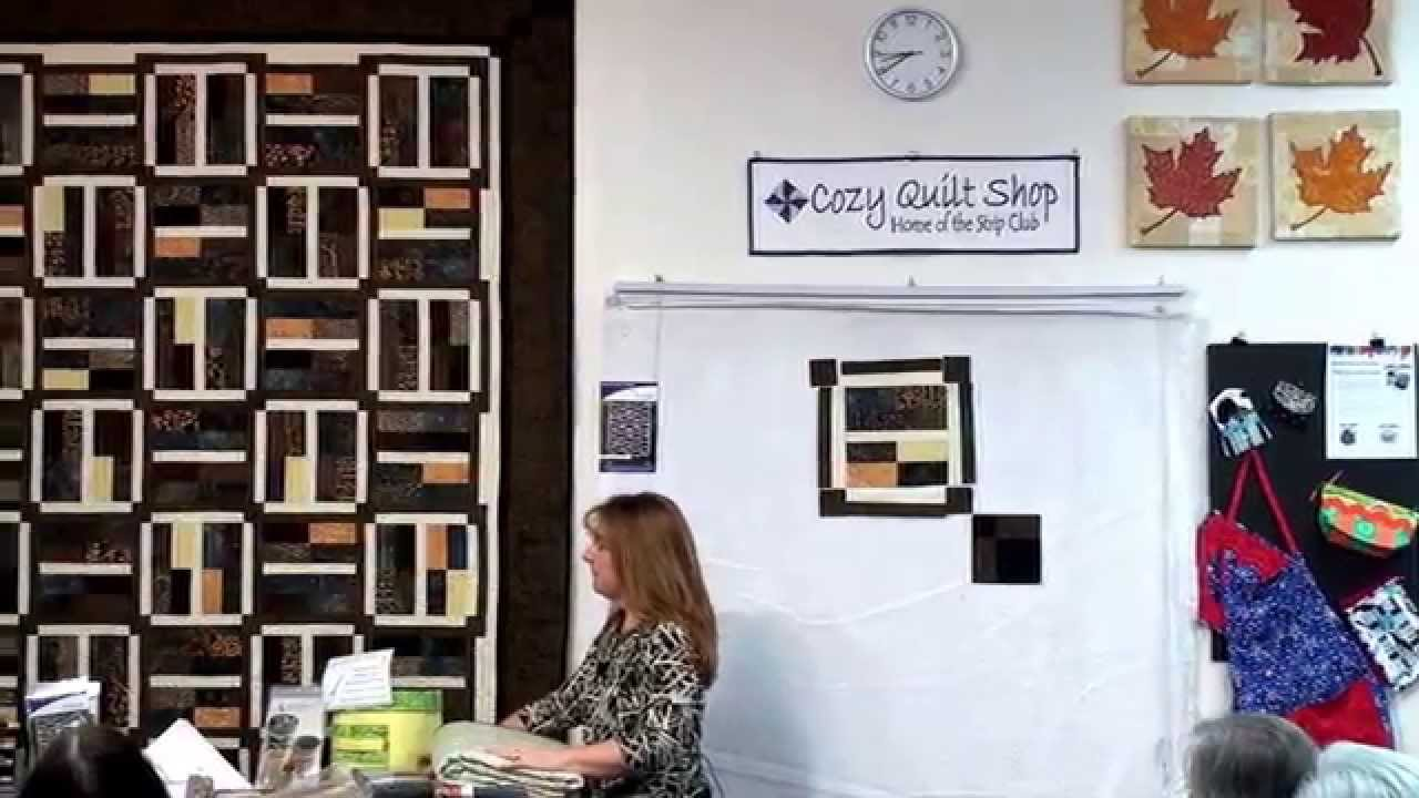 Framed Strip Pattern By Cozy Quilt Designs Youtube