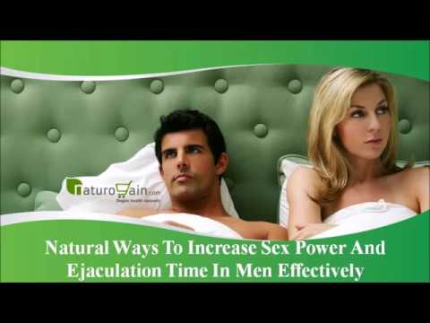 Ways to increase male orgasm