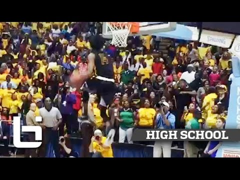 Michael Taylor EPIC Between His Legs for Slam to End State Championship!