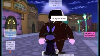 Toontown: Hey Cog, please be my friend!