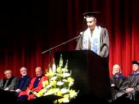 Jawann Swislow UVM Business School Graduation Speech 2008