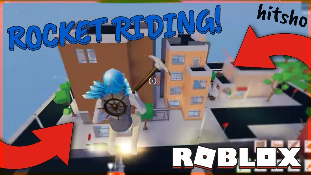 HOW TO ROCKET RIDE - STRUCID | ROBLOX FORTNITE - YouTube