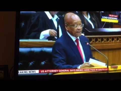 Jacob Zuma joke about Nkandla issue