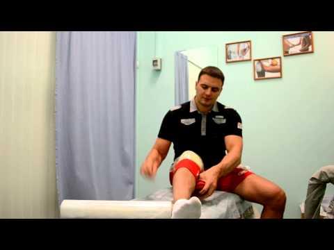 Сухожилия под коленом болят